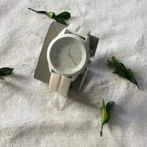 Unlisted by Kenneth Cole white watch
